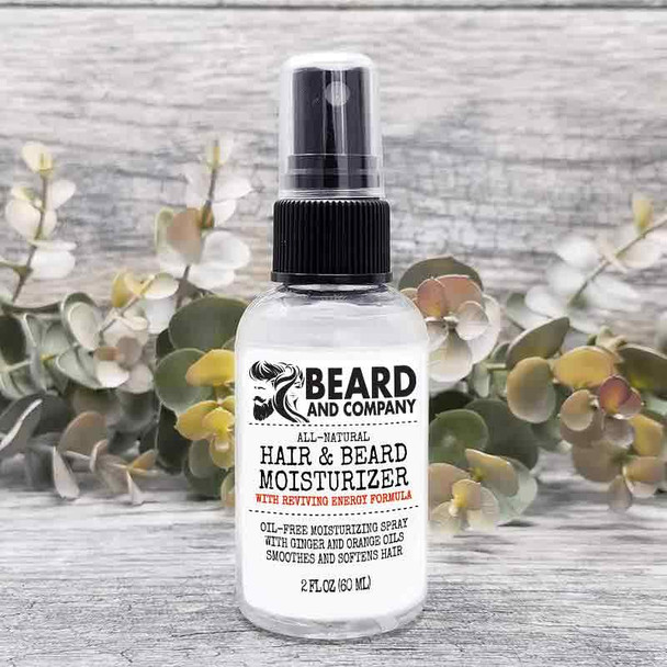 beard and company hair and beard moisturizing spray energy formula