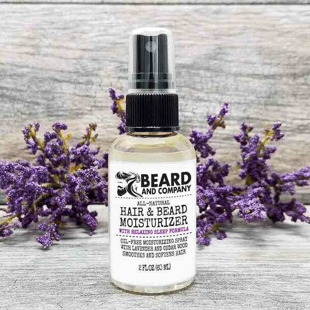 beard and company hair and beard moisturizing spray sleep formula