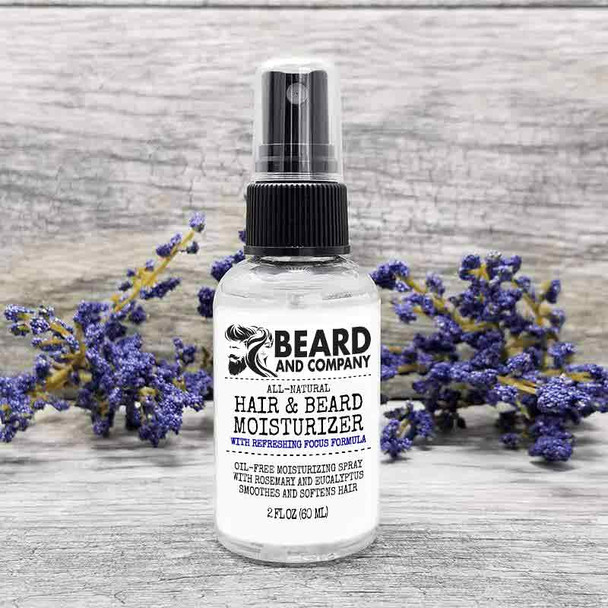 beard and company hair and beard moisturizer spray focus formula