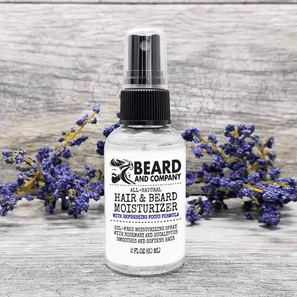 beard and company hair and beard moisturizer spray focus formula