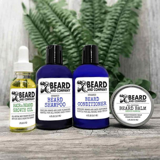 beard and company beard growth grooming kit