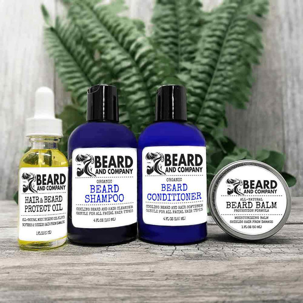 beard and company beard protection grooming kit