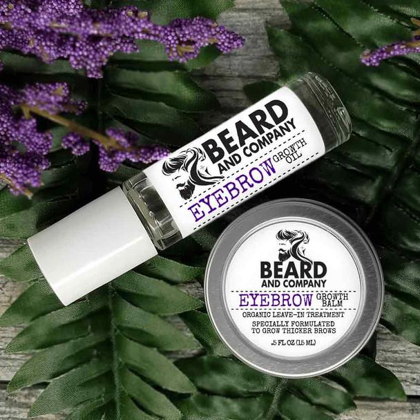 beard and company eyebrow growth kit