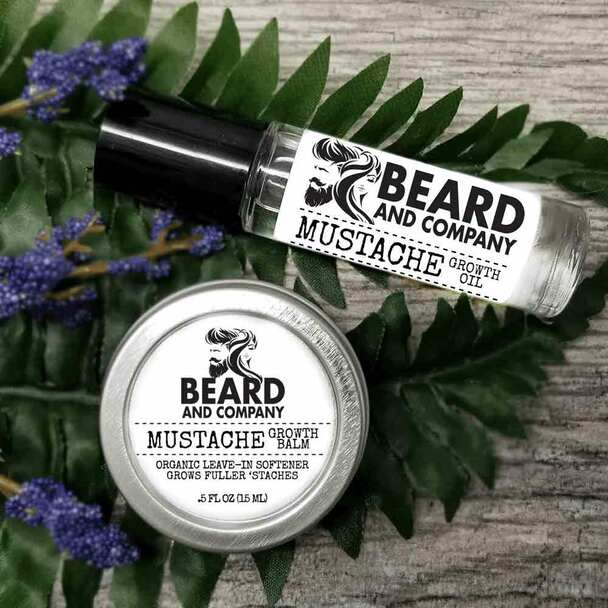 beard and company mustache growth kit