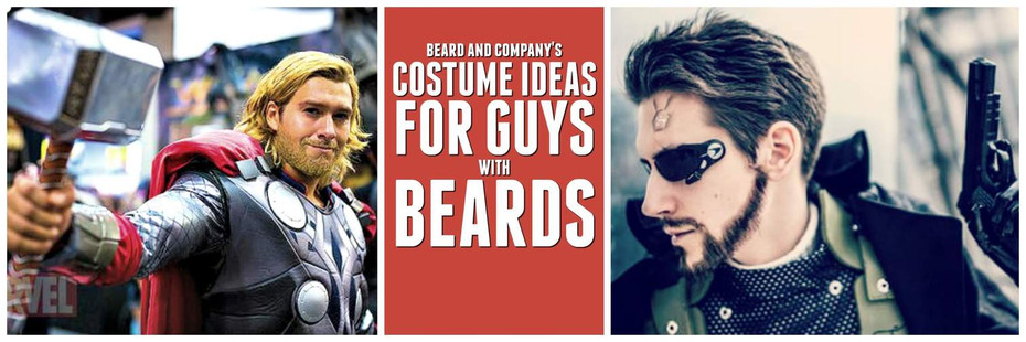 The Best Halloween Costume Ideas For Guys With Beards 2018 Beard