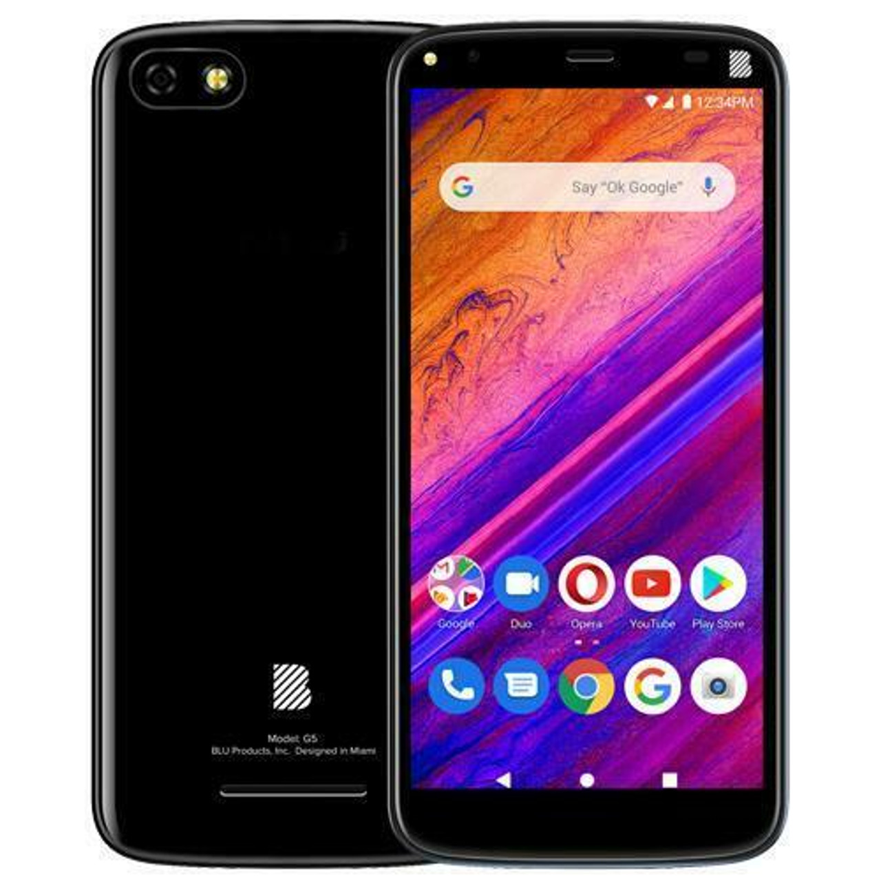 BLU G5 G0090UU Black Smartphone Android