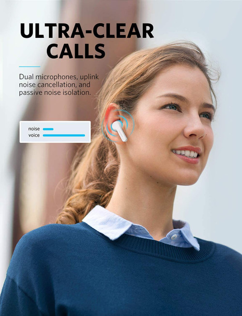 Anker Soundcore Liberty Air True Wireless Earphones W/ Charging Case | New