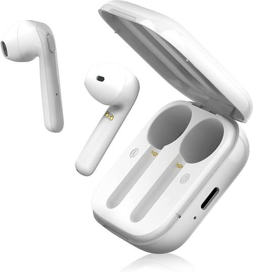 BLU Aria Pod Bluetooth Wireless Headphones Earbuds