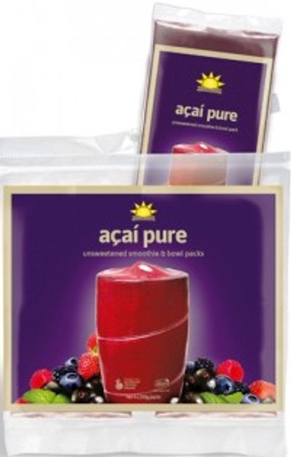 Acai Smoothie Frozen Organic Pack 4 x 100g - Amazonia