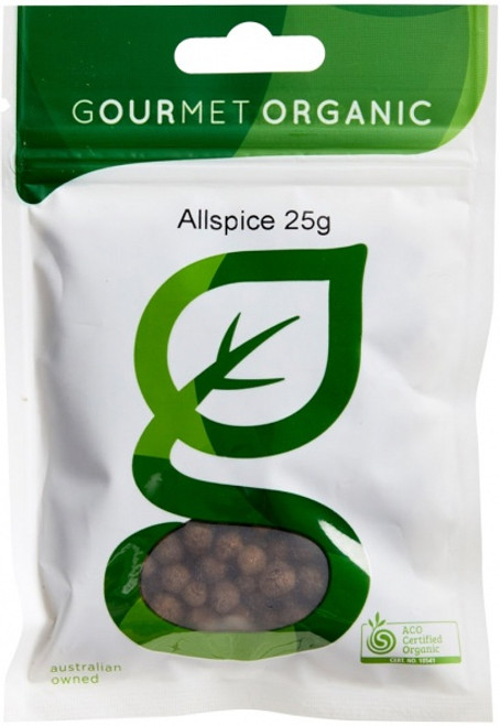 Allspice Organic 25g - Gourmet Organics