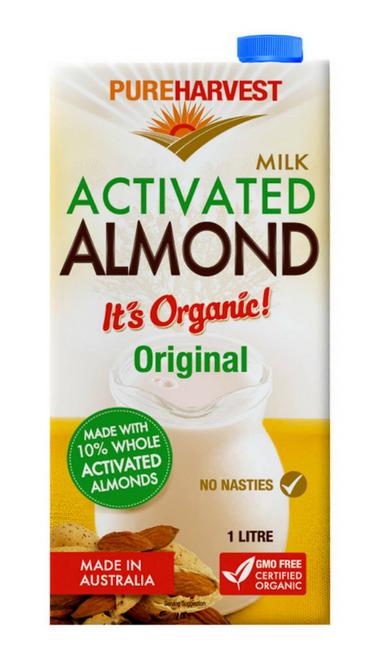 Almond Milk Original Organic 1L - Pure Harvest