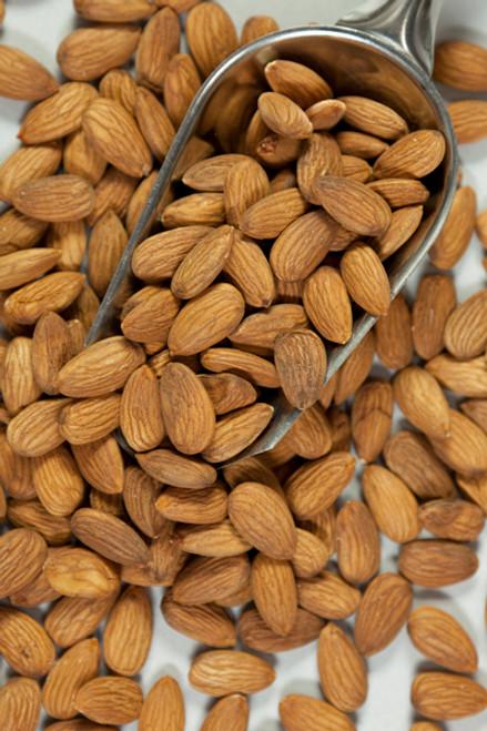 Almonds Raw Organic Bulk 100g - ONS