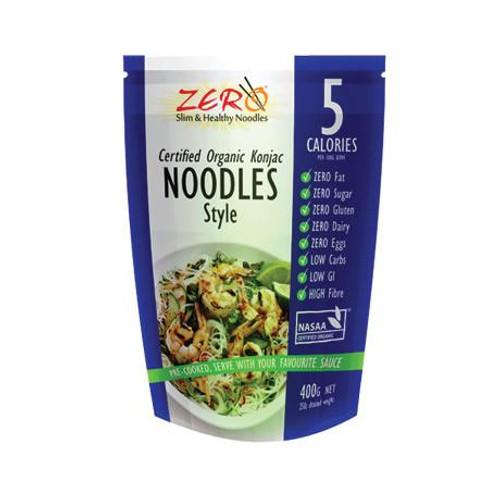 Konjac Noodles Organic 400g - Zero
