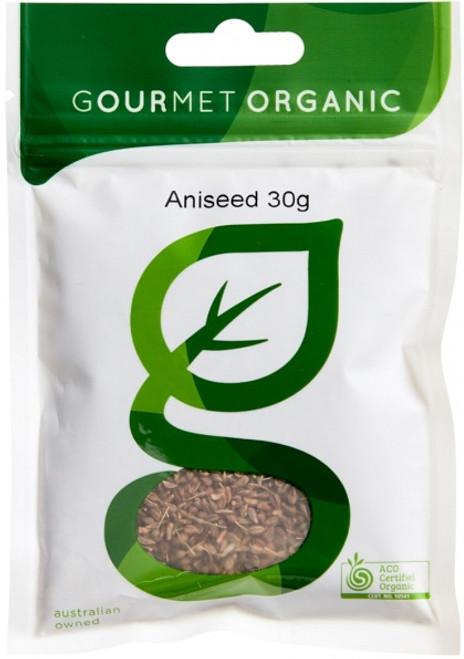 Aniseed Organic 30g - Gourmet Organics