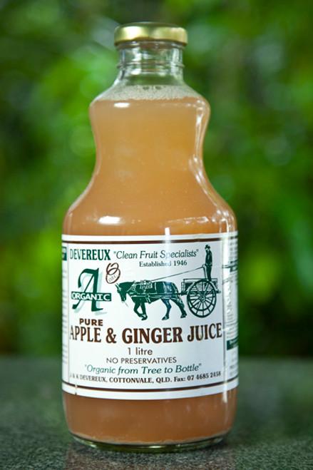 Apple & Ginger Juice 1L - Devereux