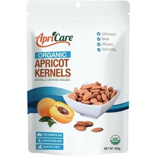 Apricot Kernels Organic Raw 500g - ApriCare