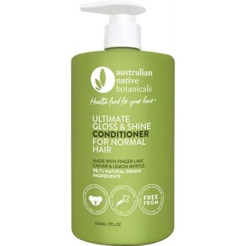 Ultimate Gloss & Shine Conditioner (normal hair) 500ml - Australian Native Botanicals