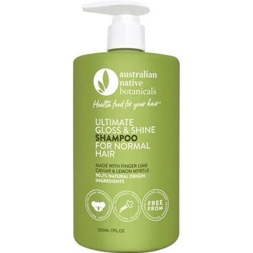 Ultimate Gloss & Shine Shampoo (normal hair) 500ml - Australian Native Botanicals