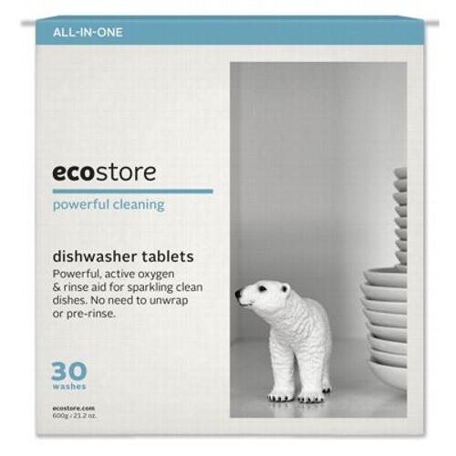 Dishwasher Tablets Fragrance Free 30 Tablets - Ecostore