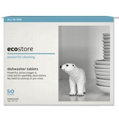Dishwasher Tablets Fragrance Free 50 Tablets - Ecostore