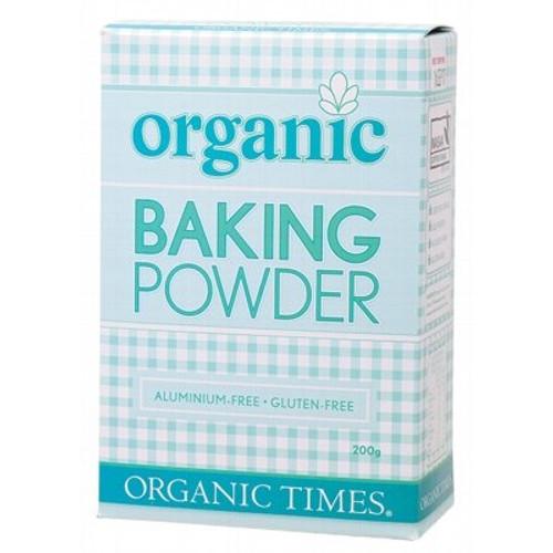 Baking Powder Organic 200g - Organic Times