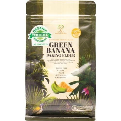 Banana Baking Flour Green Banana Organic 454g - Natural Evolution