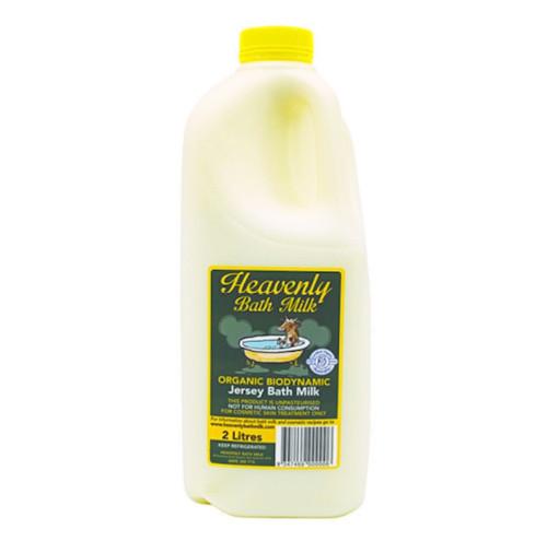 Bath Milk Organic 2L (Cosmetic Use Only) - Heavenly *Please Pre-order*