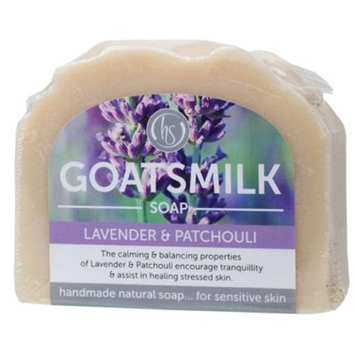 Soap Bar Goat's Milk Lavender & Patchouli 140g - Harmony Soapworks