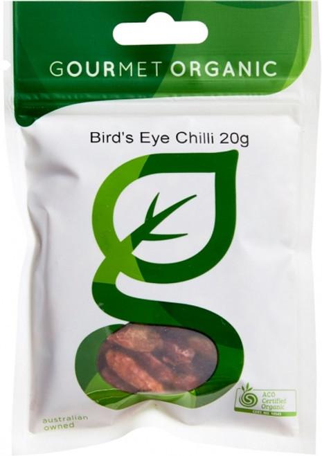Birds Eye Chilli Organic - Gourmet Organics