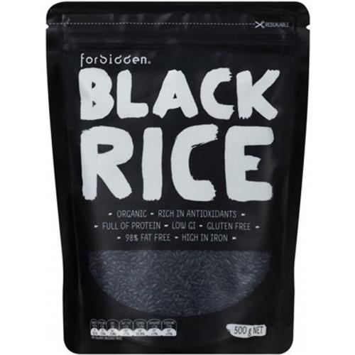 Black Rice Organic 500g - Forbidden