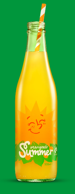 Summer Orangeade Organic 300ml - Karma Cola
