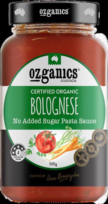 Pasta Sauce Bolognese 500g - Ozganics