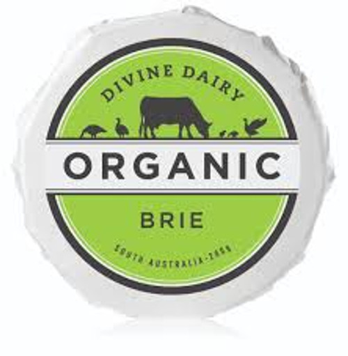 Brie Wheel Organic 200g - Divine Dairy