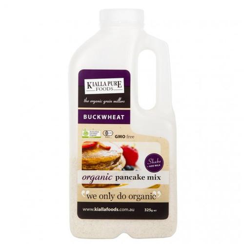 Pancake Mix Buckwheat Shaker Bottle Organic 325g - Kialla