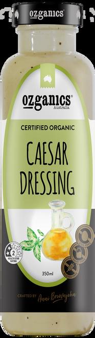 Dressing Creamy Caesar 350ml - Ozganics
