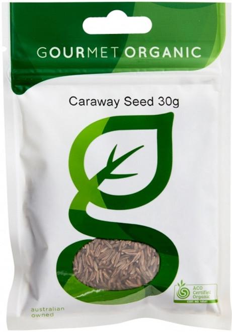 Caraway Seeds Organic 30g - Gourmet Organics