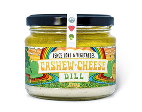 Cashew Cheese Dill Organic 270g - Peace Love Veges