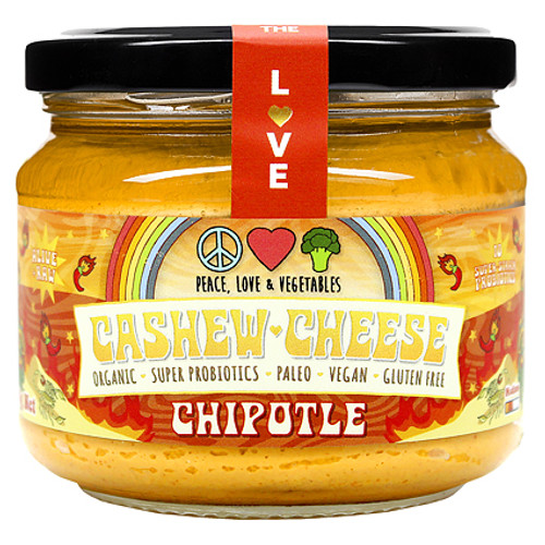Cashew Cheese Chipotle Organic 280g- Peace Love Veges