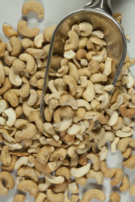 Cashews Dry Roasted Organic  Bulk per 100g - ONS