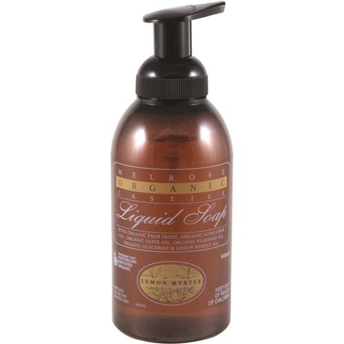 Hand/Body Soap Castille Lemon Myrtle Organic 500ml - Melrose
