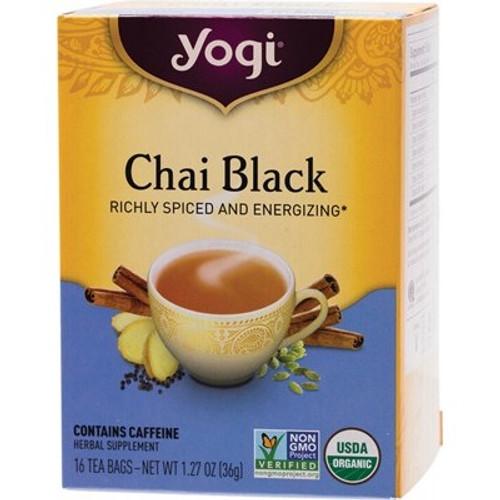 Chai Black Tea 16 Bags - Yogi Tea