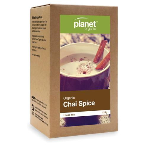 Chai  Spice Tea Loose Leaf  125g - Planet Organic