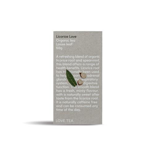 Licorice Love Tea Loose Leaf Organic 60g - Love Tea