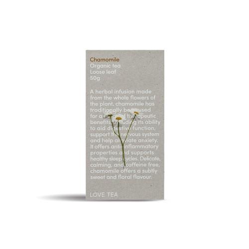 Chamomile Tea Loose Leaf Organic  50g - Love Tea