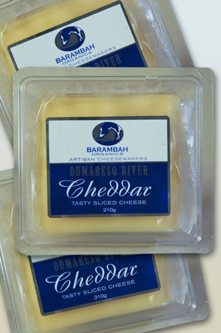 Cheddar Tasty Block Organic 250g- Barambah