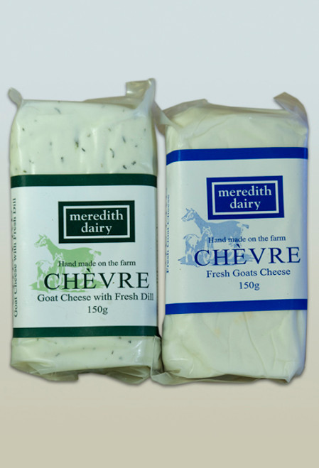 Chevre Goat Cheese Plain Organic 150g- Meredith