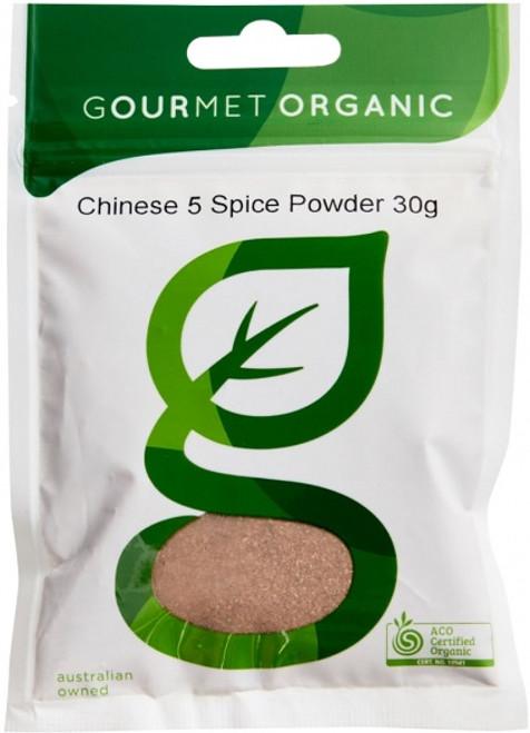 Chinese Five Spice Organic 30g - Gourmet Organics