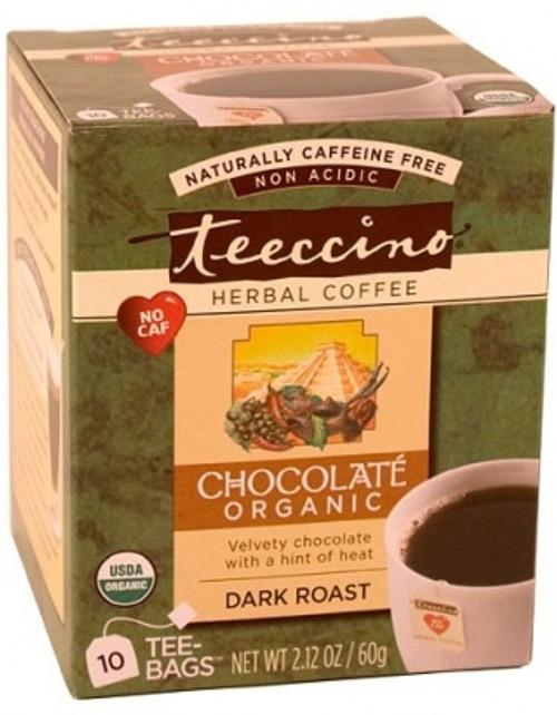 Herbal Coffee/Tea Maca Chocolate Dark Roast 10 Bags - Teeccino