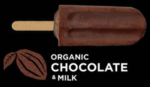 Ice Block Organic Chocolate with Milk - Flyin Fox