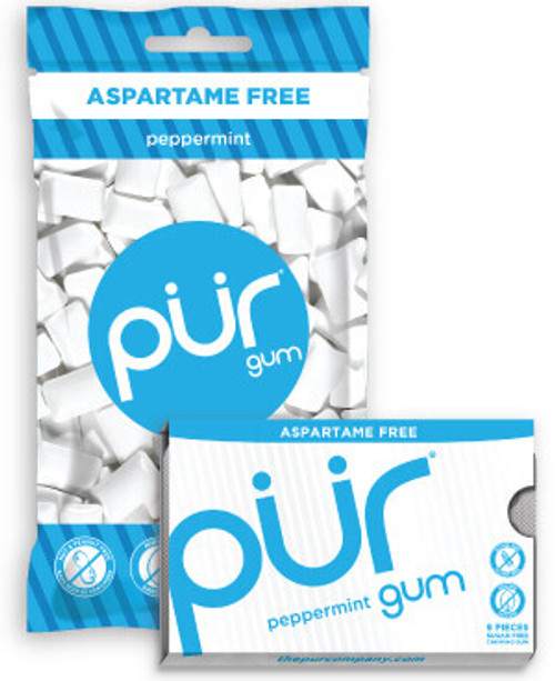 Chewing Gum Peppermint 12.6g - PUR